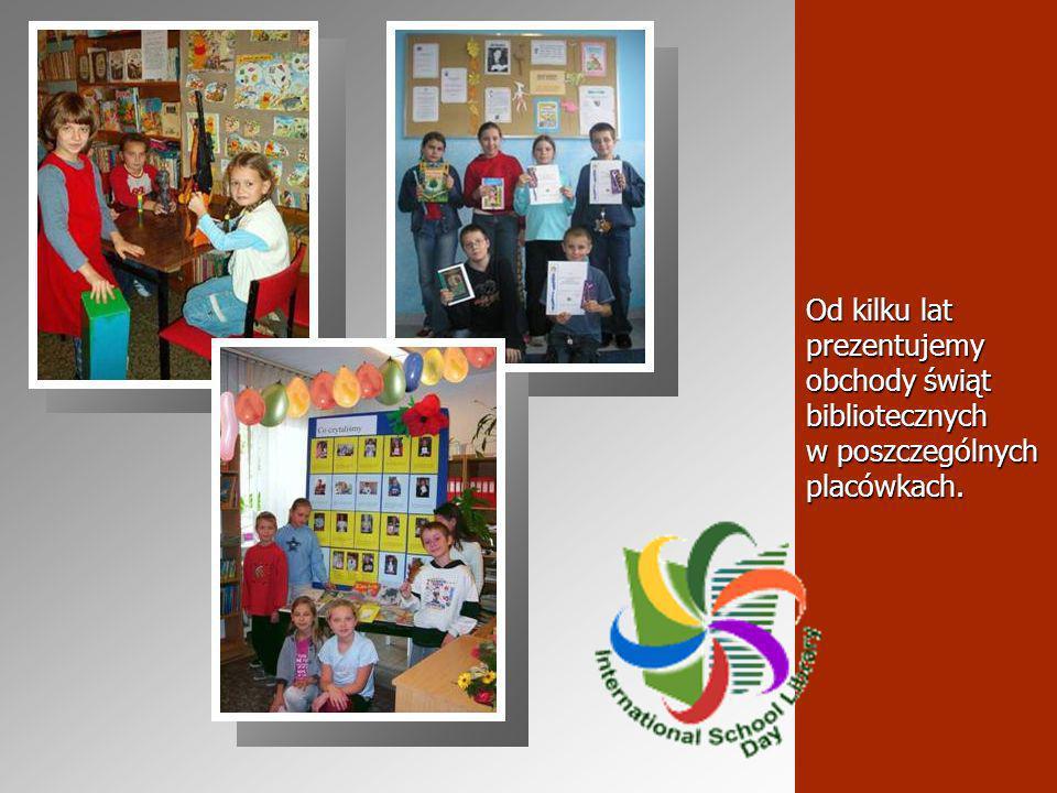 Od kilku lat prezentujemy obchody świąt bibliotecznych w poszczególnych placówkach.