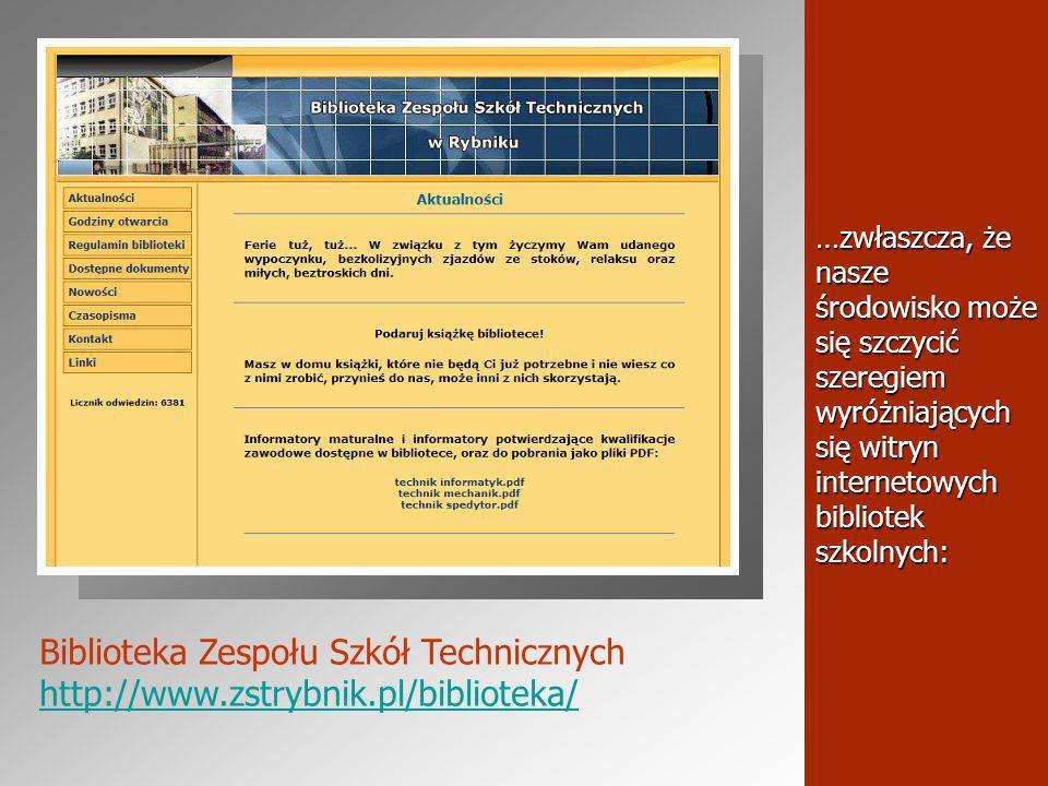 …prezentacje multimedialne przydatne w realizacji ścieżki edukacja czytelnicza i medialna oraz edukacja regionalna.