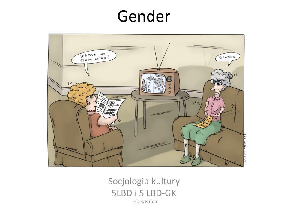 Rzeczywistość: kilka wymiarów płci kulturowej… Sex – płeć determinowana biologicznie Gender – płeć określana społecznie, kulturowo Gender identity – psychologiczny, osobowościowy wymiar płci; to identyfikacja jednostki z odpowiadającą jej płcią (tożsamość płciowa) Stąd można wyprowadzać wniosek – jak uczyniła to psycholog Sandra L.