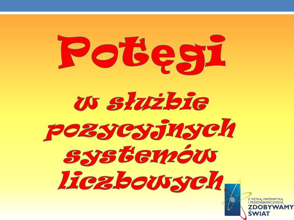 Poniższa tabela przedstawia nazwy liczb, ich zapis w postaci dziesiętnej, oraz zapis w postaci potęgi liczby 10 (dla systemu stosowanego w Polsce).