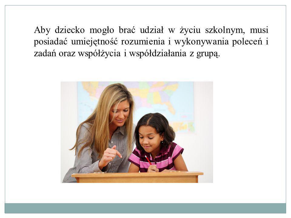 Do opanowania przez dziecko czytania i pisania niezbędna jest umiejętność porównywania, rozpoznawania i odtwarzania prostych znaków graficznych.