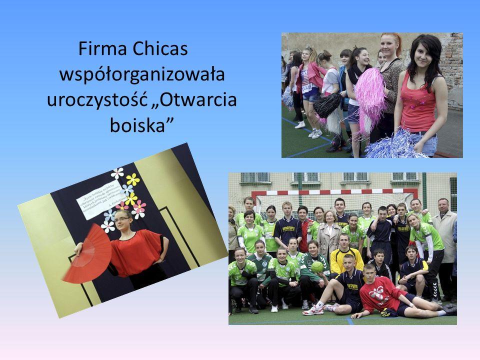 Firma Chicas współorganizowała uroczystość Otwarcia boiska