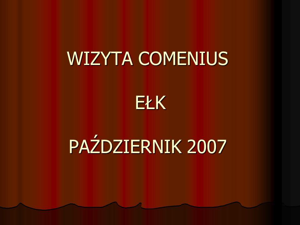 WIZYTA COMENIUS EŁK PAŹDZIERNIK 2007