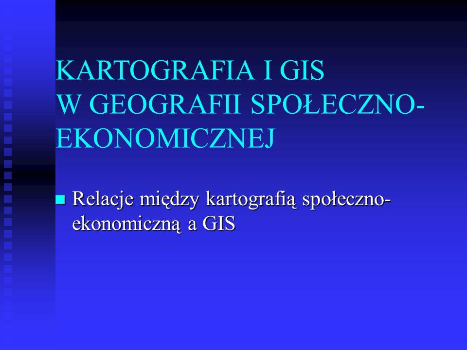 Systemy informacji geograficznej (GIS): podstawowe pojęcia Systemy informacji geograficznej (GIS): podstawowe pojęcia Relacja między GIS a kartografią Relacja między GIS a kartografią Zastosowania GIS Zastosowania GIS