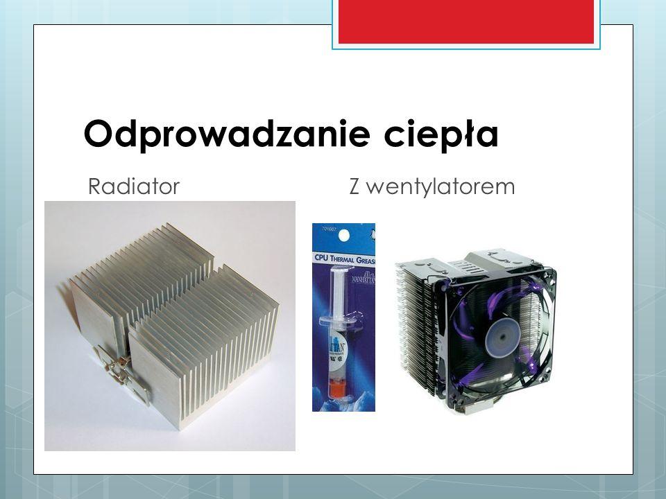 Odprowadzanie ciepła RadiatorZ wentylatorem