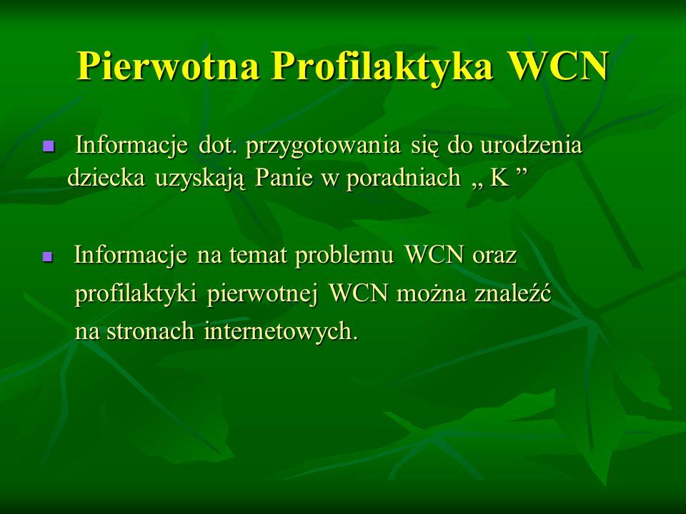 Pierwotna Profilaktyka WCN Informacje dot.