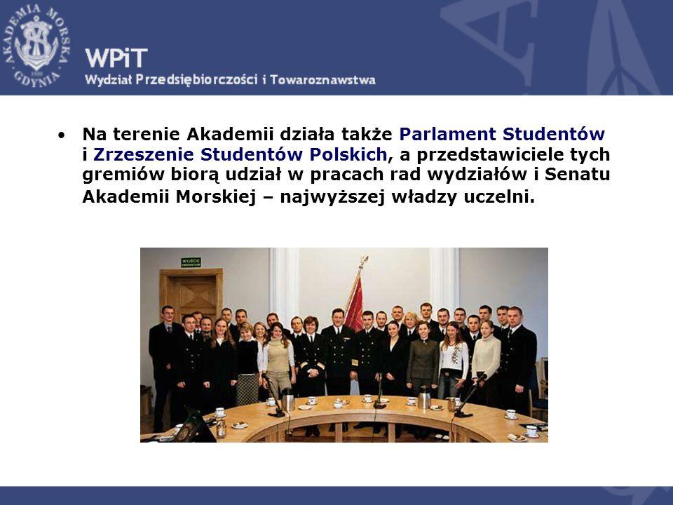 Na terenie Akademii działa także Parlament Studentów i Zrzeszenie Studentów Polskich, a przedstawiciele tych gremiów biorą udział w pracach rad wydzia