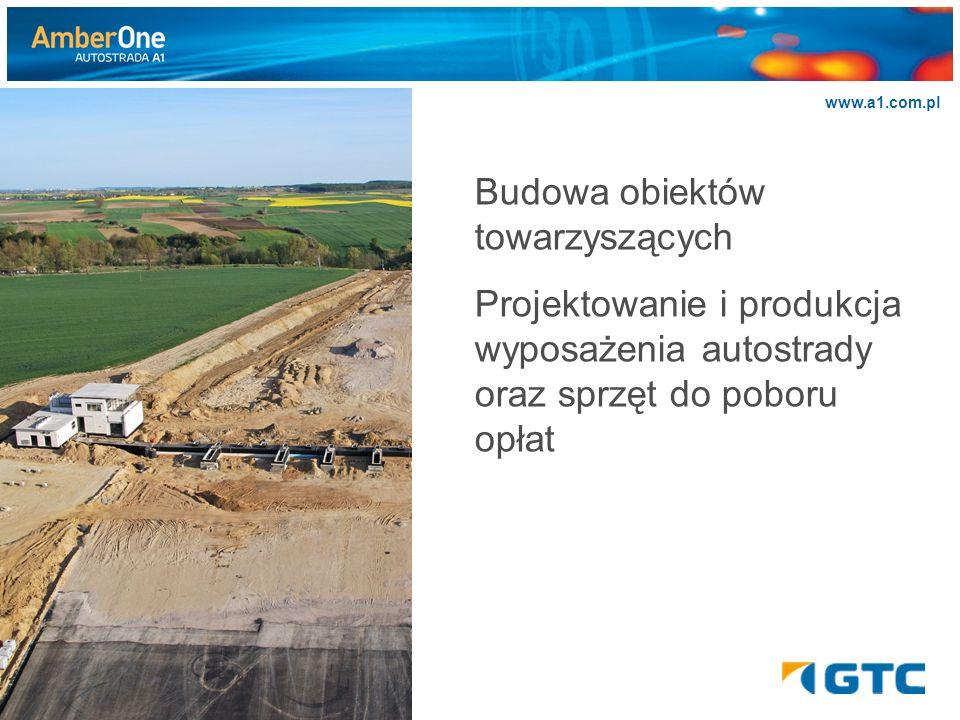 >>>>>> www.a1.com.pl Budowa obiektów towarzyszących Projektowanie i produkcja wyposażenia autostrady oraz sprzęt do poboru opłat