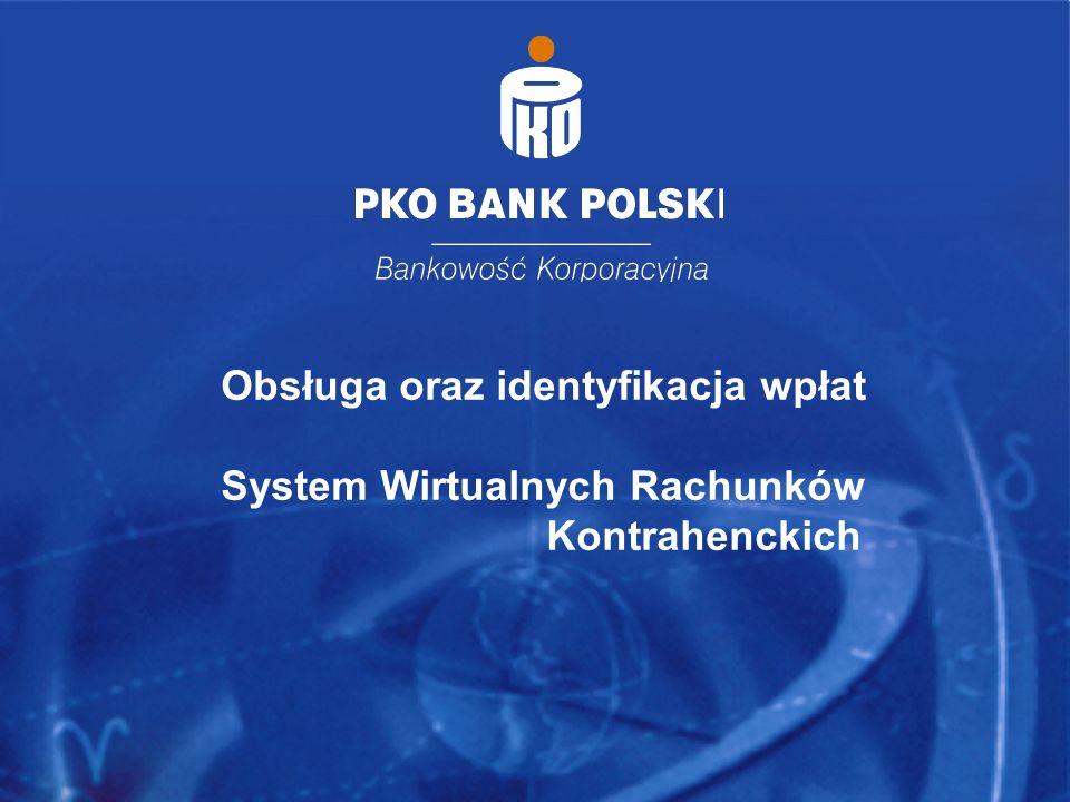 Wrocław, dn. 17 listopada 2005r. 16 Obsługa oraz identyfikacja wpłat System Wirtualnych Rachunków Kontrahenckich
