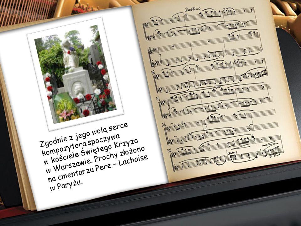 Fryderyk Chopin żył krótko, bo zaledwie 39 lat. 17 października 1849 roku umarł samotnie w Paryżu na gruźlicę, która w owym czasie należała do chorób