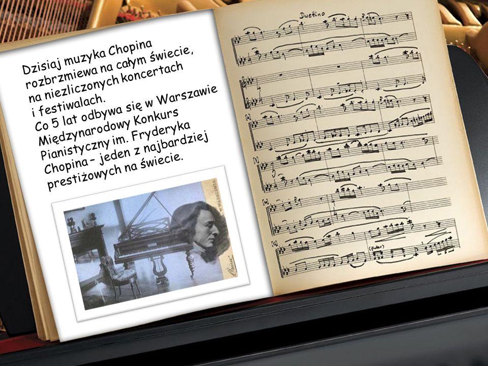 Zgodnie z jego wolą serce kompozytora spoczywa w kościele Świętego Krzyża w Warszawie. Prochy złożono na cmentarzu Pere – Lachaise w Paryżu.