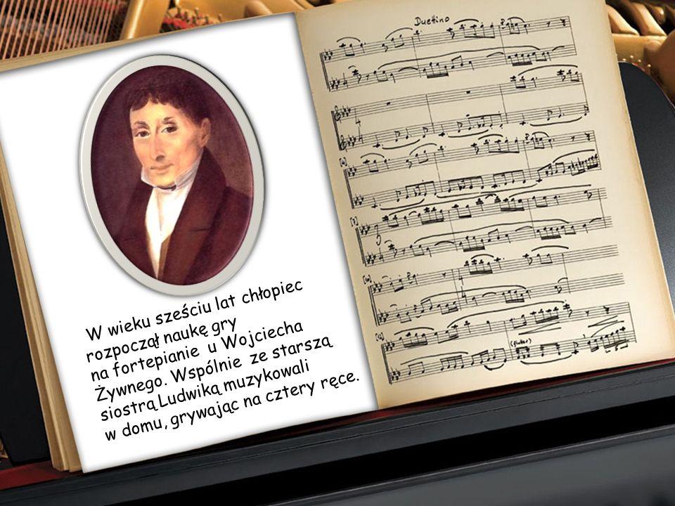 Matka, Justyna z Krzyżanowskich, była osobą bardzo muzykalną - grała na fortepianie i śpiewała; w naturalny sposób stała się więc pierwszą nauczycielk