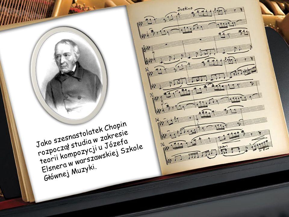 Okres nauki u Wojciecha Żywnego to także początek występów publicznych małego Chopina. Grywał w salonach arystokracji warszawskiej i brał udział w kon