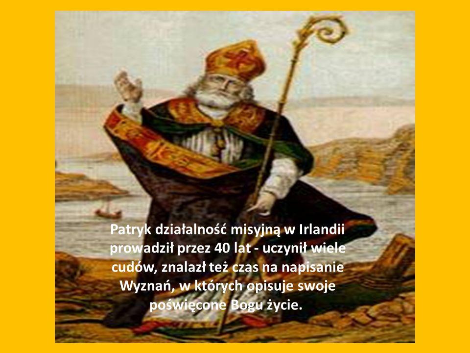 postacią tego słynnego świętego wiąże się wiele legend.