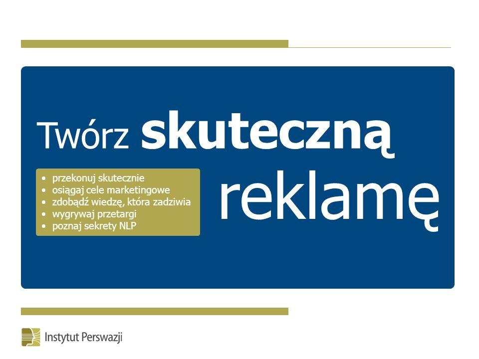 Nasi eksperci należą do: Instytut Perswazji (wydawca szkolenia Ekspert Perswazji ) to pierwsza jednostka w Polsce specjalizująca się wyłącznie w badaniach nad skutecznymi strategiami perswazji, negocjacji oraz sprzedaży.