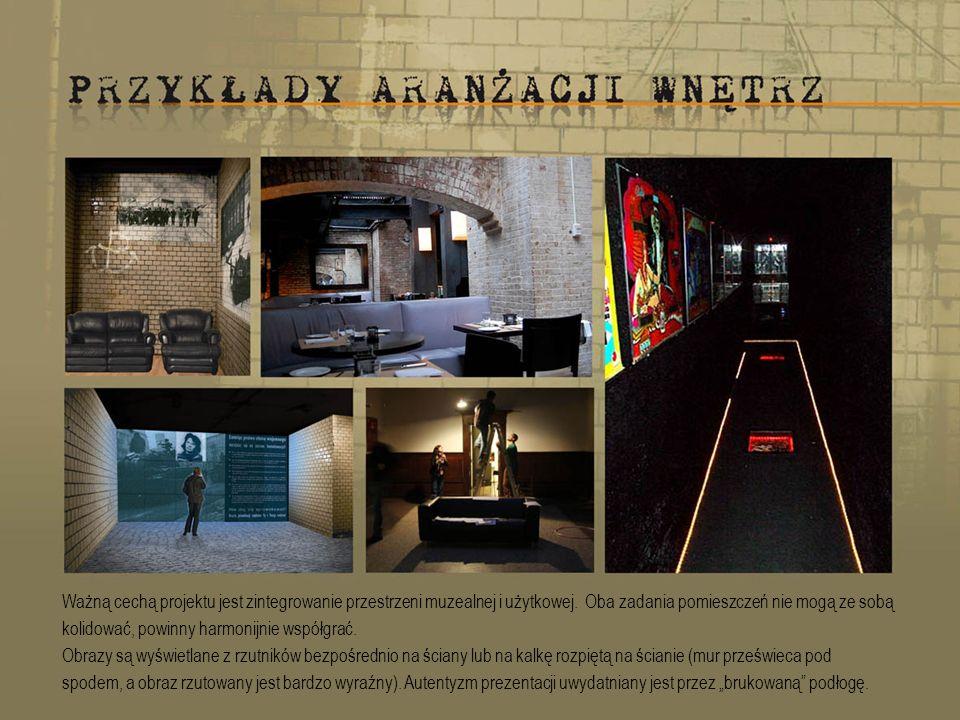 Ważną cechą projektu jest zintegrowanie przestrzeni muzealnej i użytkowej.
