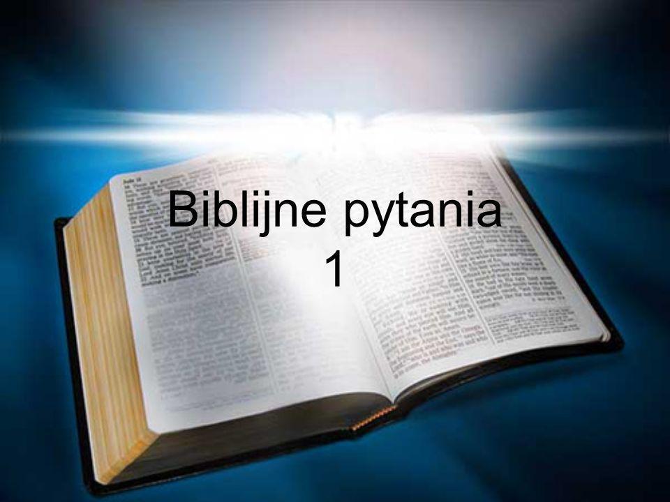 Czemu Biblia jest taka ważna.