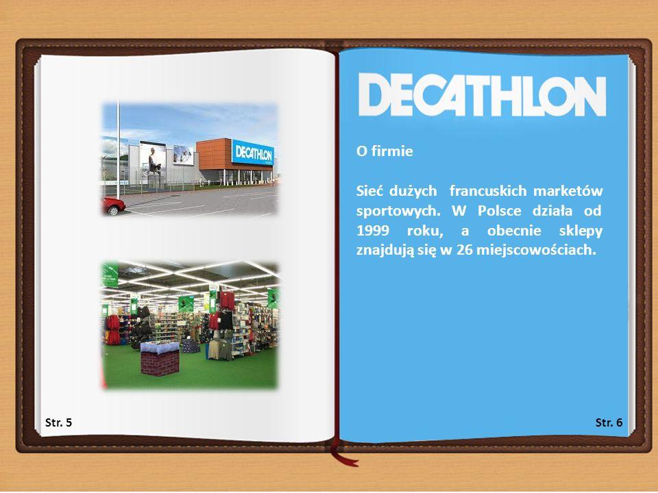 Str.7Str. 8 Kategoria 1: Organizacja pracy Lp.PYTANIA ODPOWIEDZI Data 20.1227.12 1.
