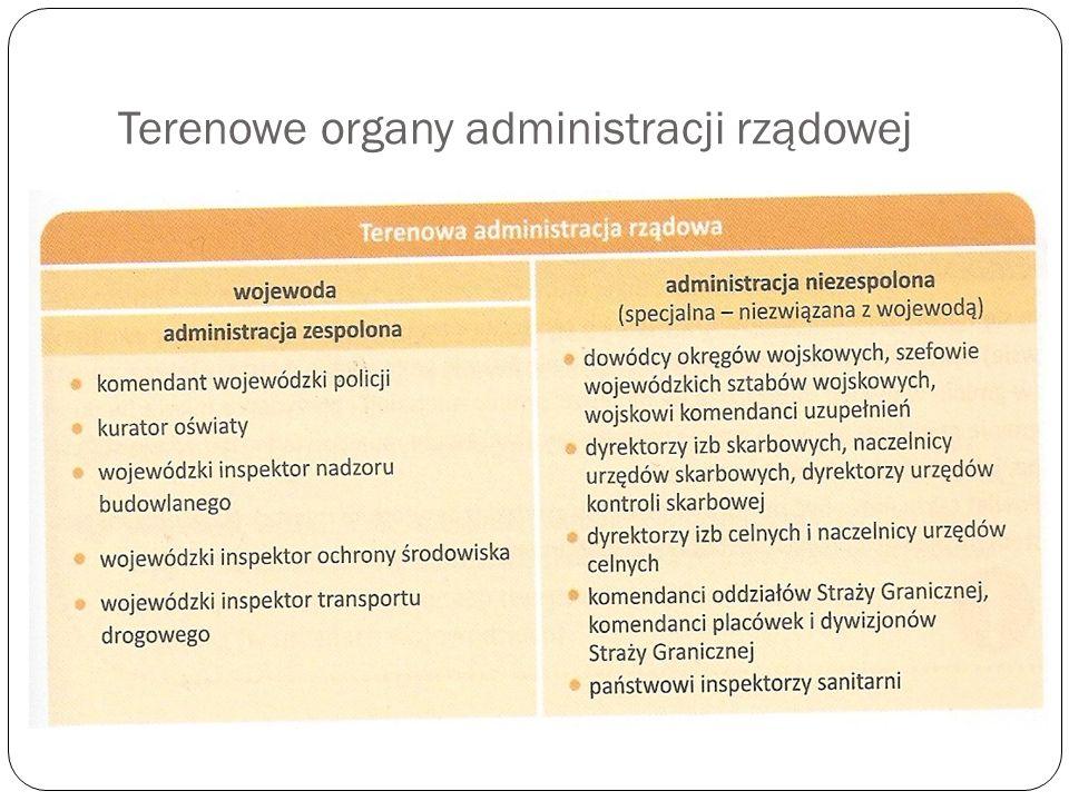 Terenowe organy administracji rządowej