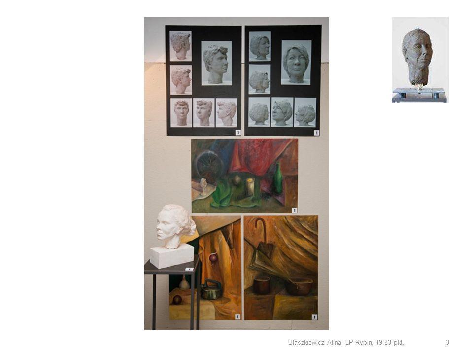Sonia Dubois LP Szczecin rysunek 6,50 pkt. 34