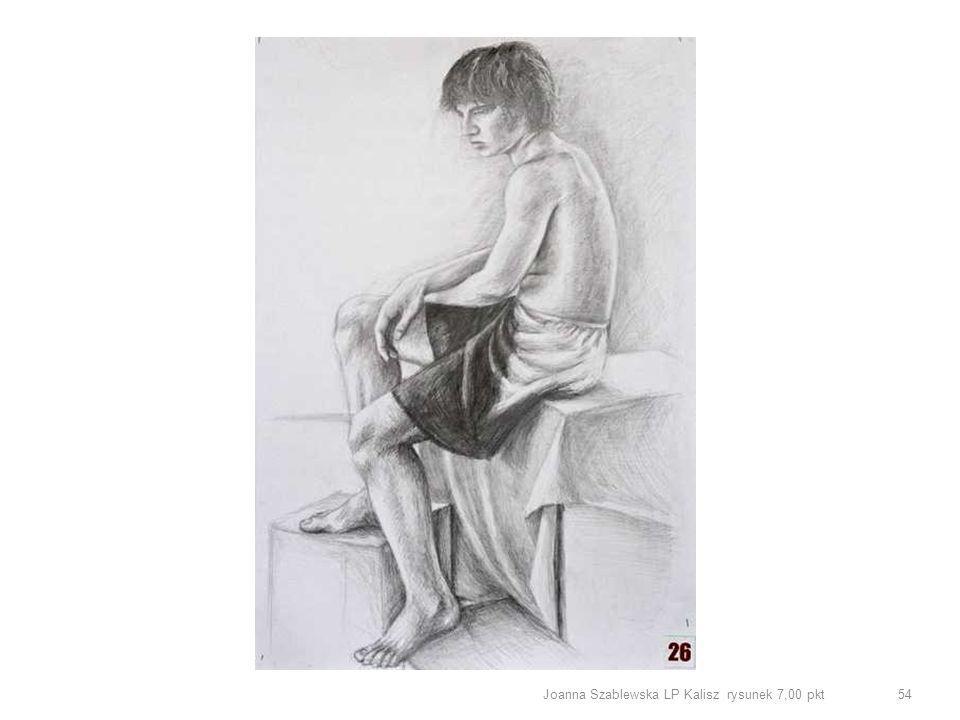Joanna Szablewska LP Kalisz rysunek 7,00 pkt 54