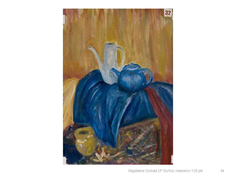 Magdalena Czubata LP Gryfice malarstwo 1,33 pkt 64