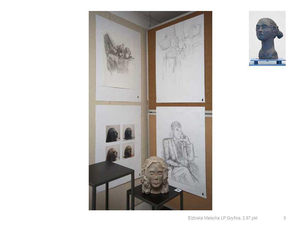Elżbieta Malecha LP Gryfice, rzeźba 1,50 pkt. 10