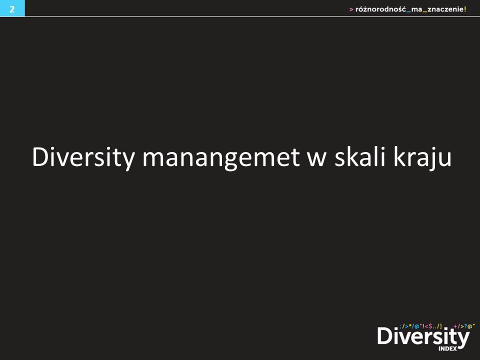 Diversity manangemet w skali kraju 2