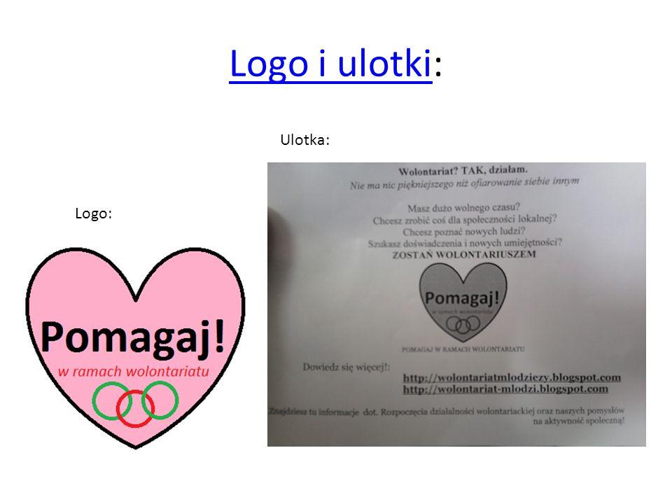 Logo i ulotkiLogo i ulotki: Logo: Ulotka: