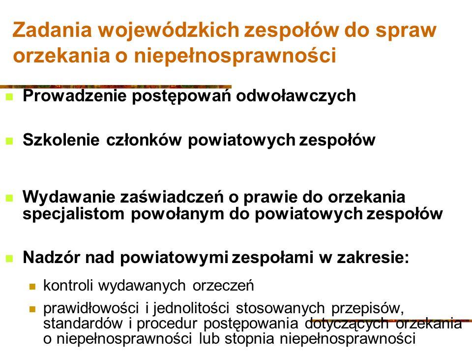 Wojewódzkie zespoły ds.