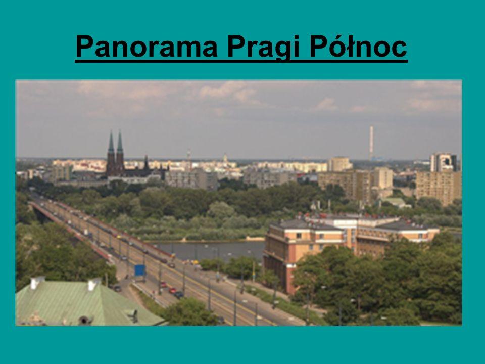 Panorama Pragi Północ