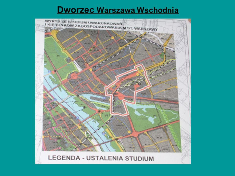 Dworzec Warszawa Wschodnia