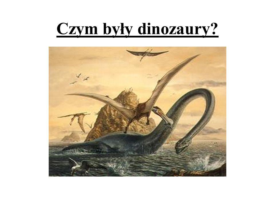 Czym były dinozaury?