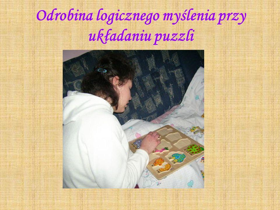 Odrobina logicznego myślenia przy układaniu puzzli