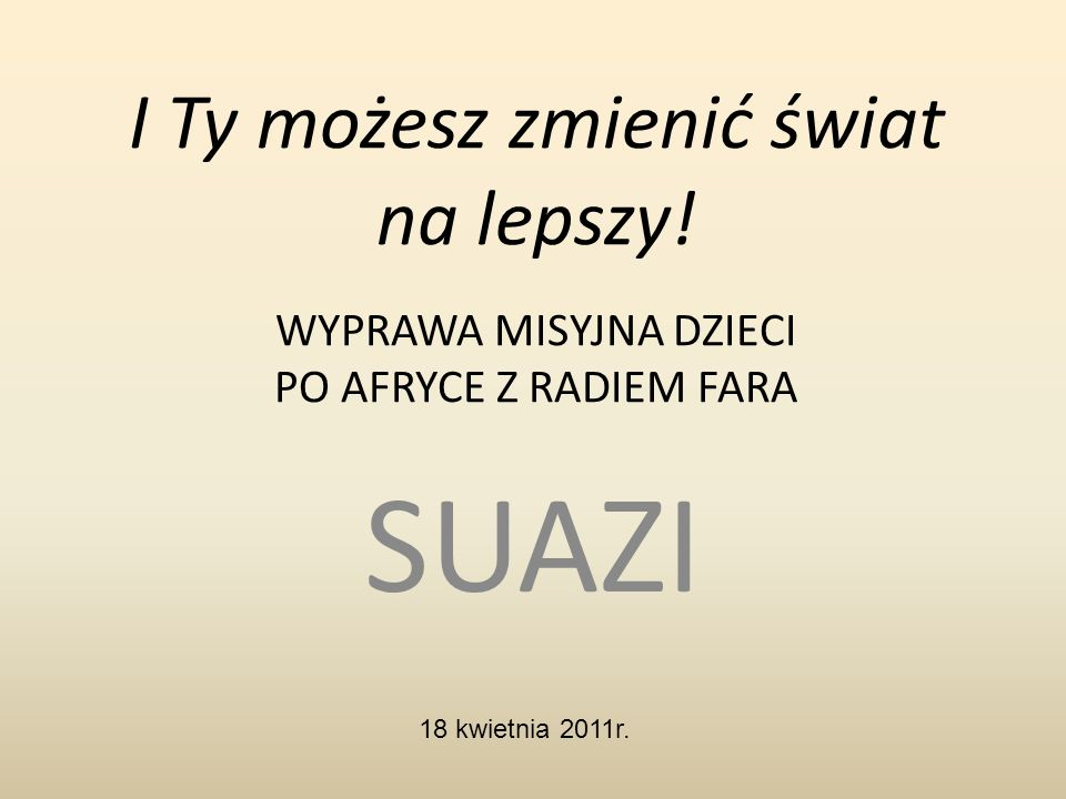 Suazi to jedno z najmniejszych państw w Afryce.
