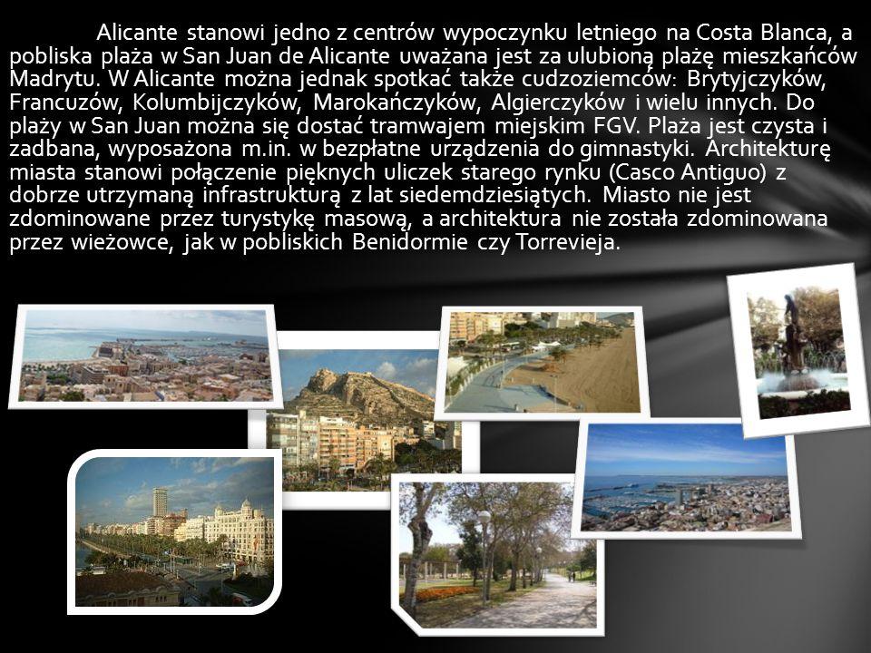 Miasta Hiszpanii Alicante