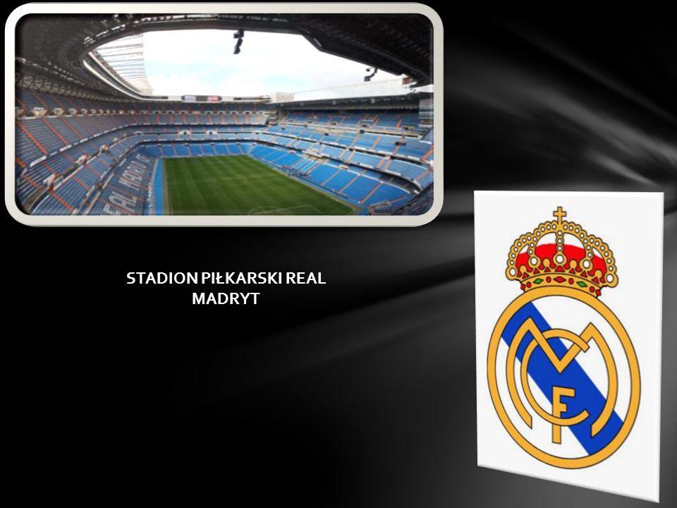 KLUBY PIŁKARSKIE Real Madrid CF Hiszpańska duma piłki nożnej, klub który został założony ponad sto lat temu zdobywając wiele tytułów mistrzowskich hiszpańskiej ligi Primera División i dziewięciu pucharów ligi mistrzów, został uznany za najlepszą drużynę świata XX wieku.