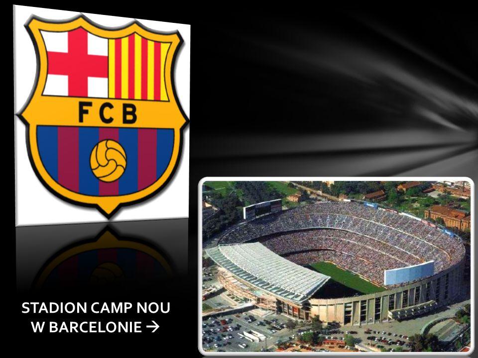FC BARCELONA Hiszpański wielosekcyjny klub sportowy, istniejący od chwili założenia drużyny piłkarskiej.