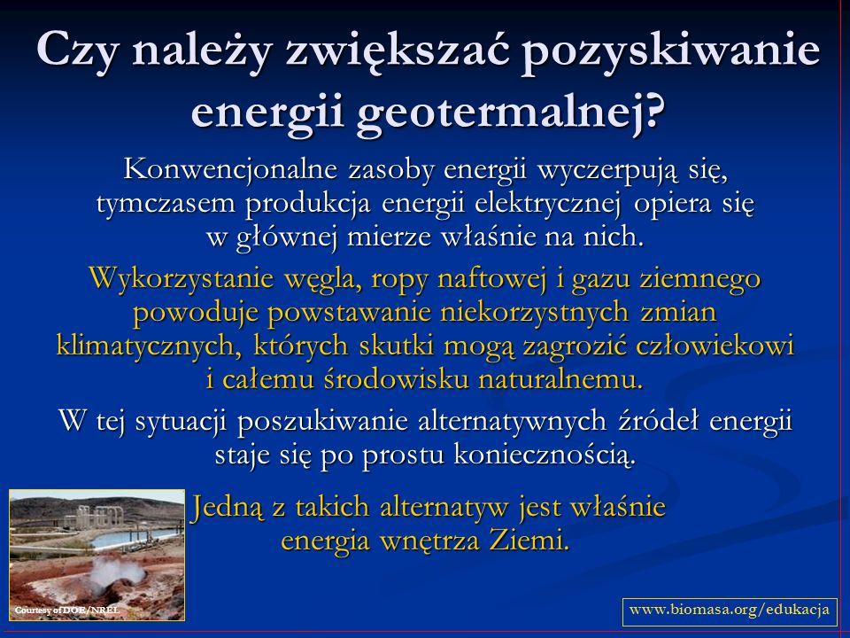 Czy należy zwiększać pozyskiwanie energii geotermalnej.
