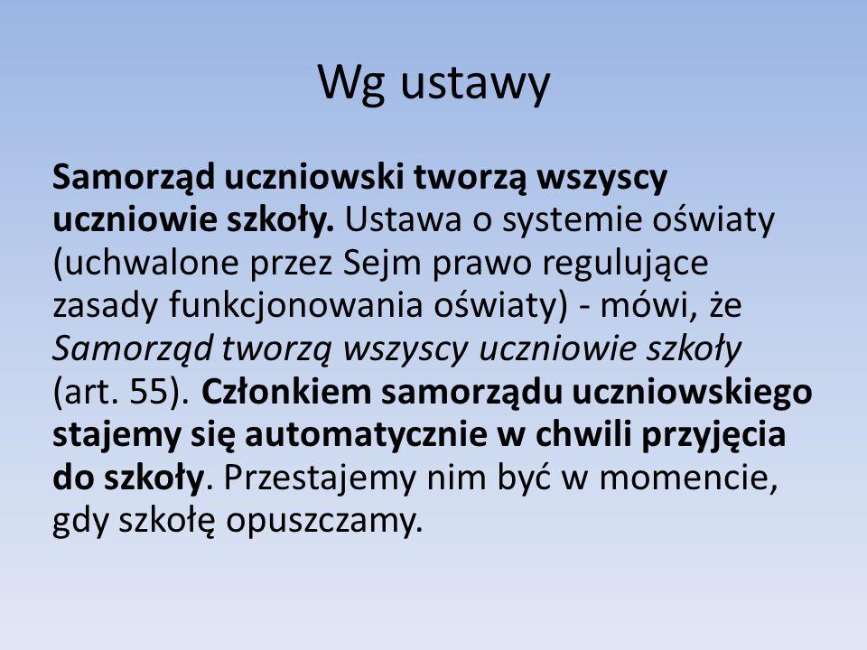 Działalność SU Samorząd organizuje życie kulturalne szkoły, m.in.: -Andrzejki -Mikołajki -Walentynki -Dzień kobiet -inne imprezy tematyczne i koncerty