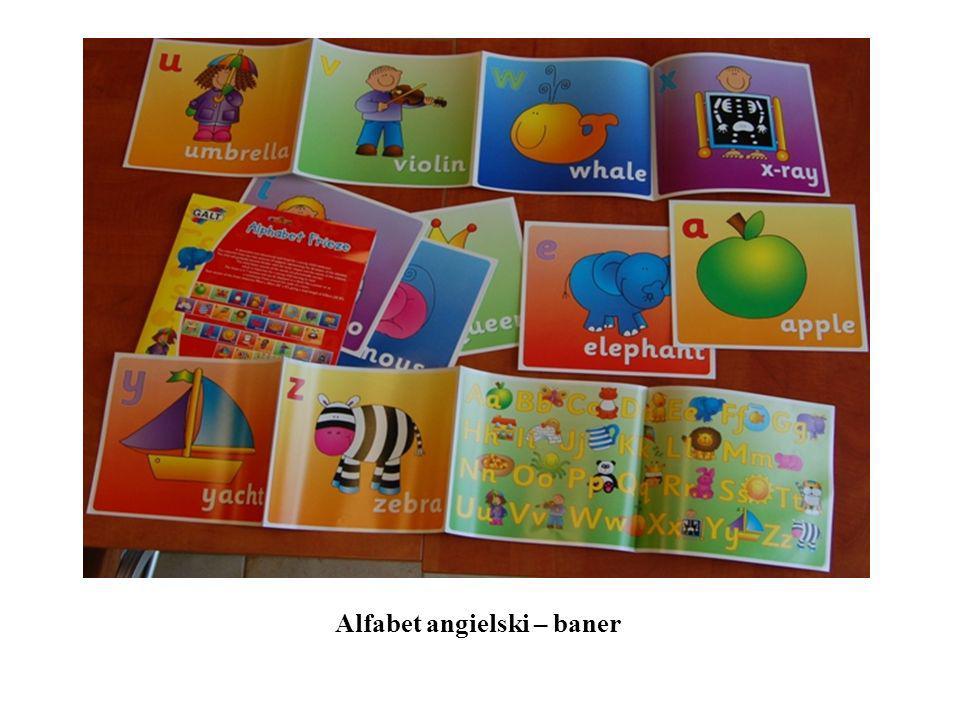Alfabet angielski – baner