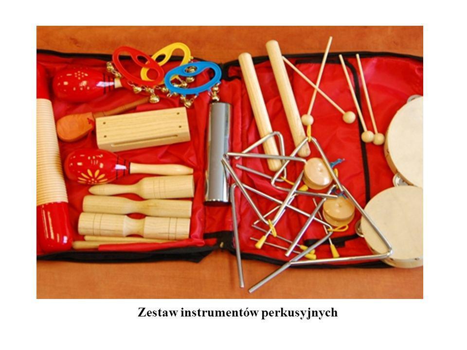 Zestaw instrumentów perkusyjnych