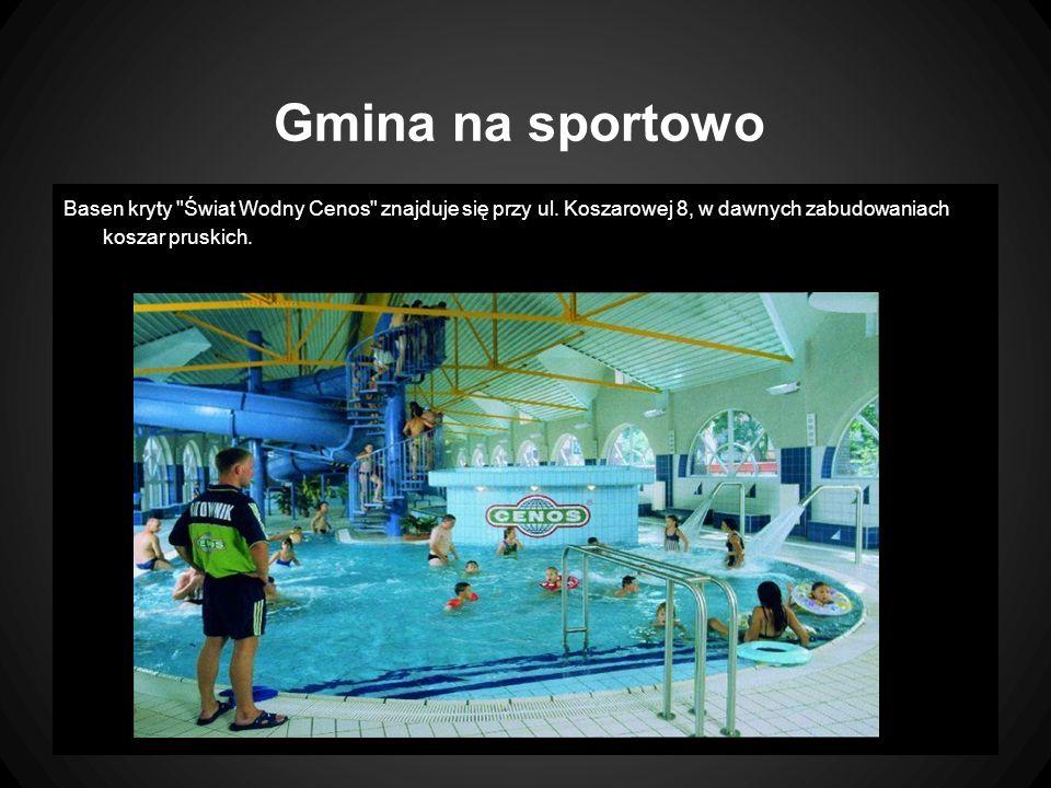 Gmina na sportowo Basen kryty Świat Wodny Cenos znajduje się przy ul.