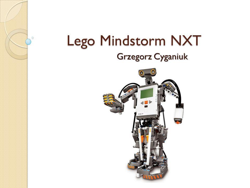 Lego Mindstorm NXT Grzegorz Cyganiuk