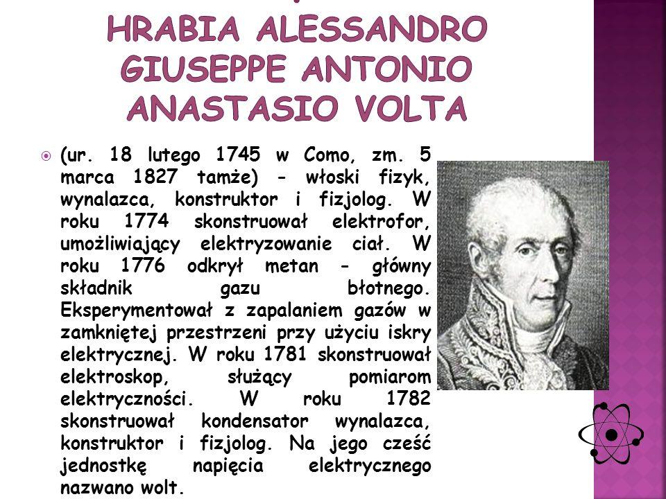 (ur. 22 września 1791, zm. 25 sierpnia 1867) – fizyk i chemik angielski, jeden z najwybitniejszych uczonych XIX w., eksperyment Stworzył podstawy elek