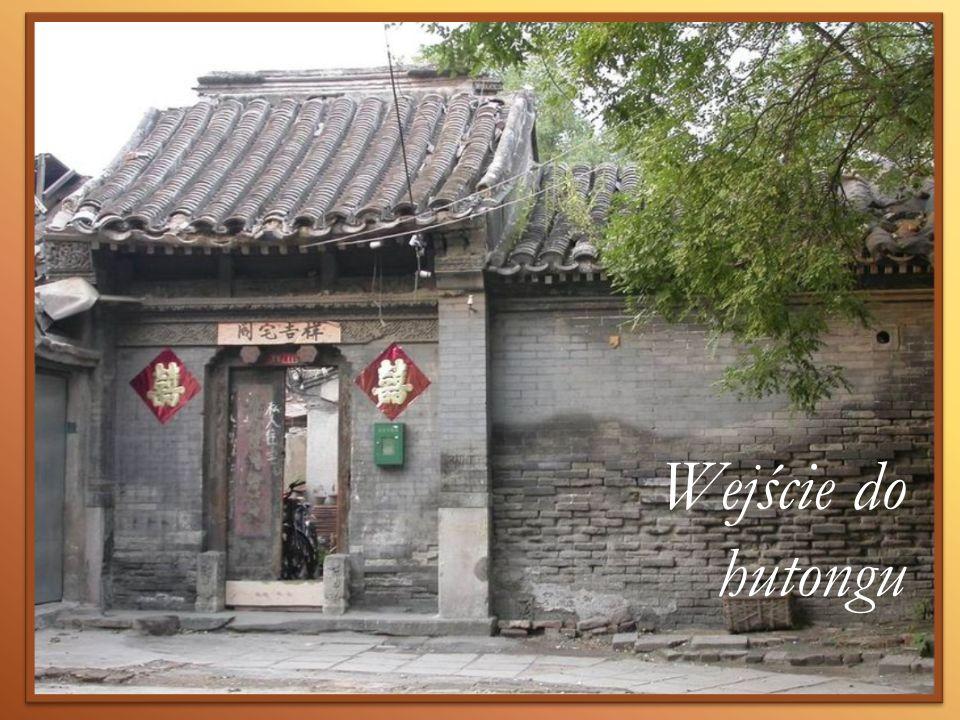 Wejście do hutongu