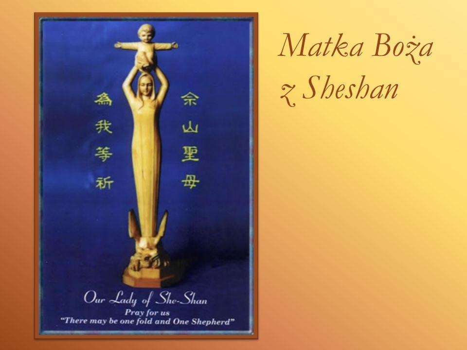 Najświętsza Dziewico, Matko Słowa Wcielonego i Matko nasza, czczona jako Wspomożycielka Wiernych w sanktuarium Sheshan, na którą spogląda z serdeczną miłością cały Kościół w Chinach, zwracamy się dziś do Ciebie, by błagać o Twoje wstawiennictwo.