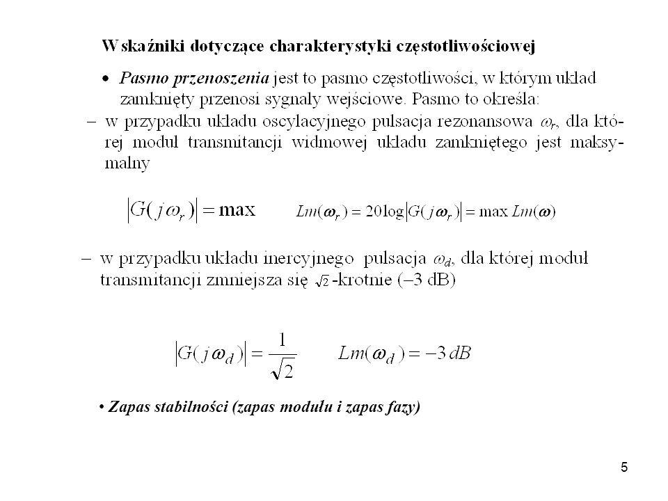 5 Zapas stabilności (zapas modułu i zapas fazy)