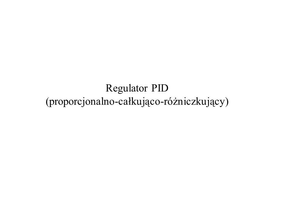Regulator PID (proporcjonalno-całkująco-różniczkujący)