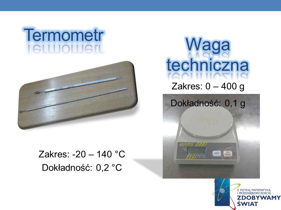 Zakres: -20 – 140 °C Dokładność: 0,2 °C